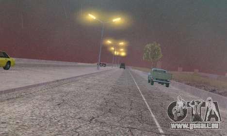 Les lumières de San Fierro, Las Venturas pour GTA San Andreas septième écran