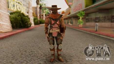 Erron Black [MKX] pour GTA San Andreas deuxième écran