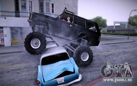 Huntley Monster v3.0 für GTA San Andreas rechten Ansicht