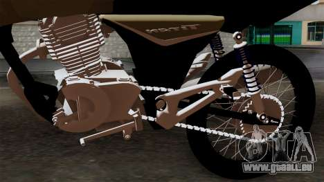 CB1 Stunt Imitacion für GTA San Andreas Rückansicht