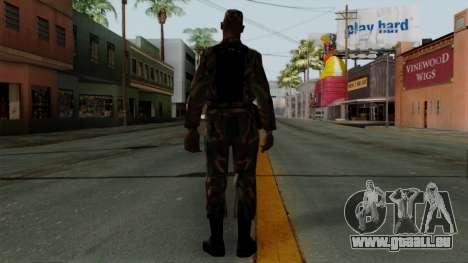 Der Afro-amerikanischen Soldaten in der standard für GTA San Andreas dritten Screenshot