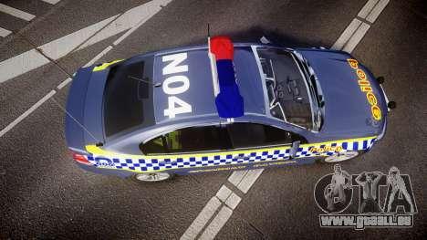 Holden VE Commodore SS Highway Patrol [ELS] v2.1 pour GTA 4 est un droit
