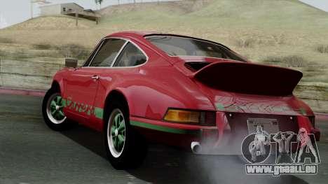 Porsche 911 Carrera RS 2.7 Sport (911) 1972 IVF für GTA San Andreas linke Ansicht