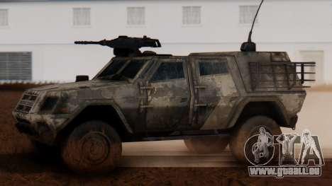 BAE Systems JLTV Extra Skin pour GTA San Andreas laissé vue