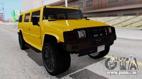 GTA 5 Patriot für GTA San Andreas