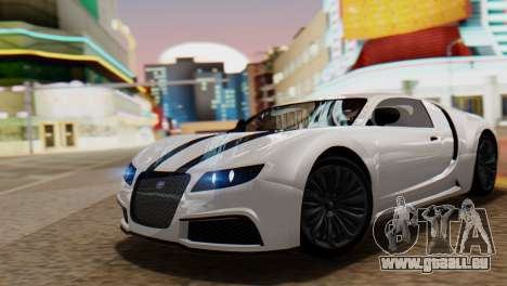 GTA 5 Adder Tire Dirt für GTA San Andreas