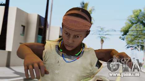 African Child pour GTA San Andreas