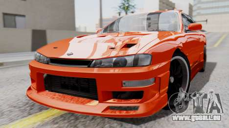 Nissan Silvia S14 (240SX) Fast and Furious pour GTA San Andreas