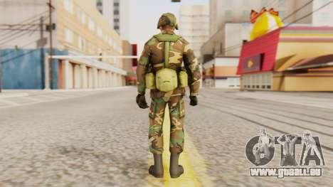 Les soldats de l'armée AMÉRICAINE pour GTA San Andreas troisième écran