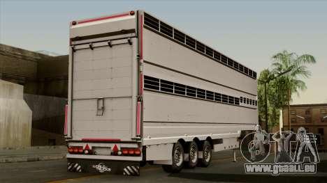 Trailer Aria pour GTA San Andreas laissé vue