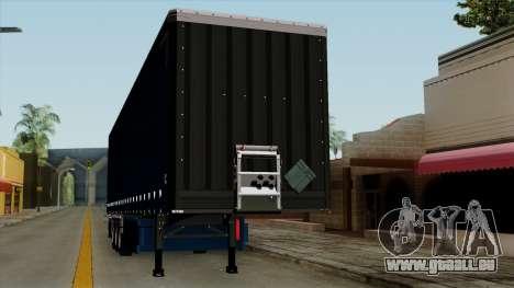 Trailer Krone Profiliner v2 für GTA San Andreas Innenansicht