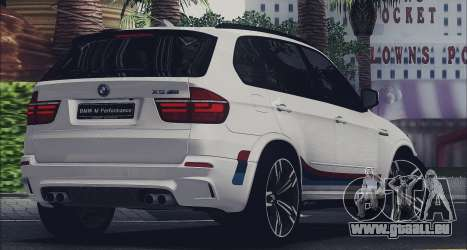 BMW X5M MPerformance Packet für GTA San Andreas linke Ansicht