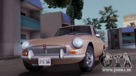 MGB GT (ADO23) 1965 HQLM für GTA San Andreas