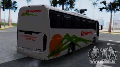 Busscar Elegance 360 pour GTA San Andreas laissé vue