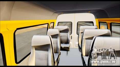 GAZelle 3221 2007 Final pour GTA San Andreas vue de droite