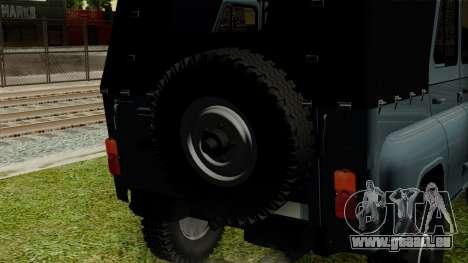 UAZ-3151 pour GTA San Andreas vue arrière