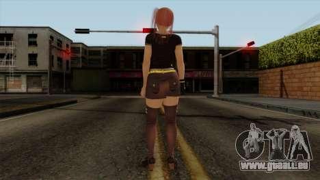 RE Dead Or Alive 5LR - Honoka C5 pour GTA San Andreas troisième écran
