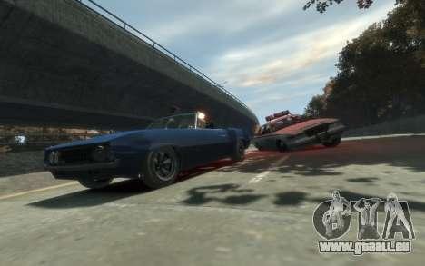 Declasse Vigero Cabrio für GTA 4 hinten links Ansicht