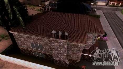 Le manoir dans le style de Scarface pour GTA San Andreas troisième écran