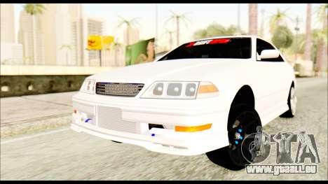 Toyota Mark 2 JZX 100 für GTA San Andreas