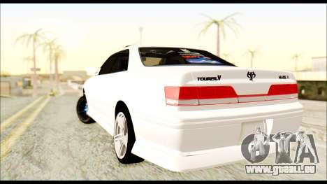 Toyota Mark 2 JZX 100 für GTA San Andreas linke Ansicht