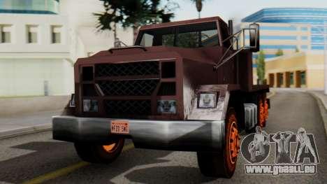 Flatbed 1.0 für GTA San Andreas