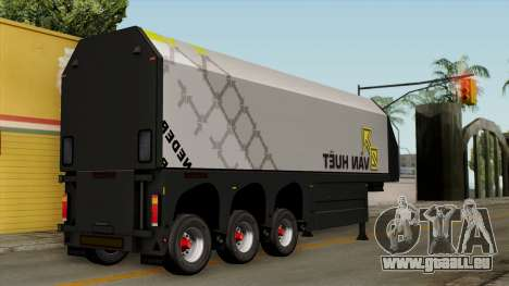 Trailer Glass v2 pour GTA San Andreas laissé vue