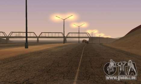 Les lumières de San Fierro, Las Venturas pour GTA San Andreas