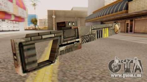 Warhammer Sniper Rifle pour GTA San Andreas deuxième écran