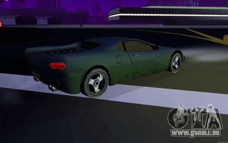 GTA 3 Infernus SA Style v2 pour GTA San Andreas vue de droite