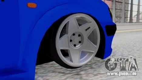 Peugeot 106 für GTA San Andreas zurück linke Ansicht