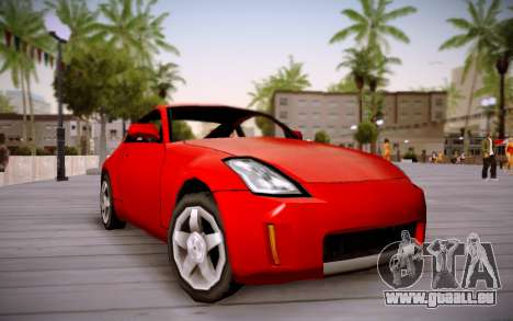 Nissan 350Z SA Style für GTA San Andreas