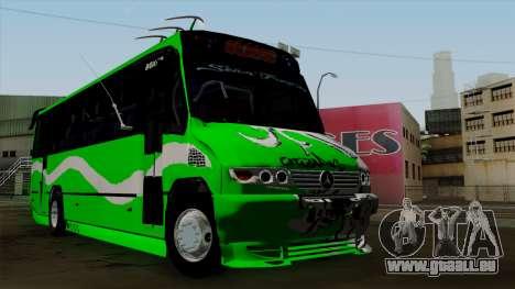 Mercedes-Benz Boxer pour GTA San Andreas