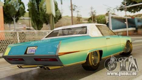GTA 5 Albany Manana IVF pour GTA San Andreas laissé vue