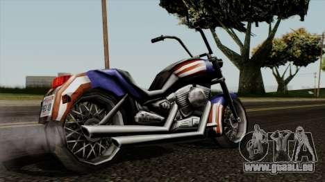 Freeway Angel pour GTA San Andreas laissé vue