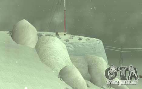 Winter Timecyc für GTA San Andreas zweiten Screenshot