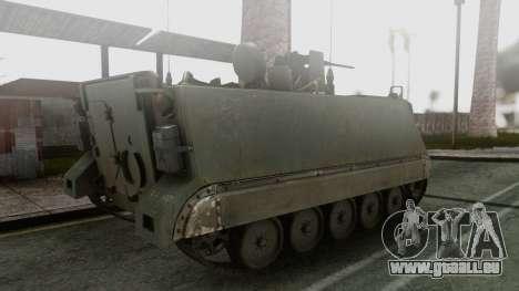 PGZ-95 Radar (Type 95) pour GTA San Andreas laissé vue