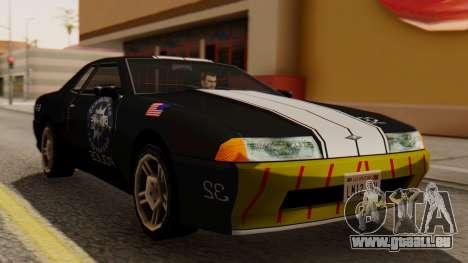Elegy Police Edition für GTA San Andreas