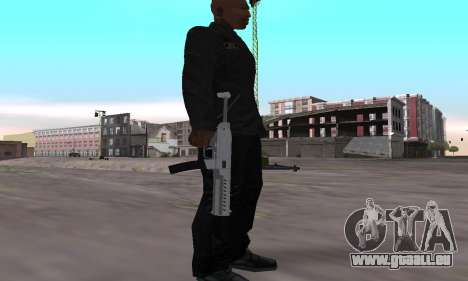 Combat PDW from GTA 5 für GTA San Andreas