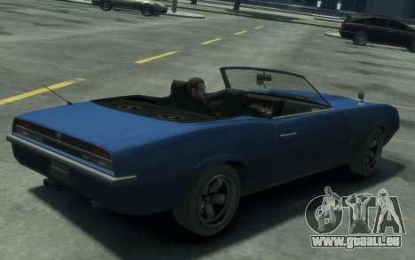Declasse Vigero Cabrio für GTA 4 linke Ansicht