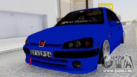 Peugeot 106 pour GTA San Andreas