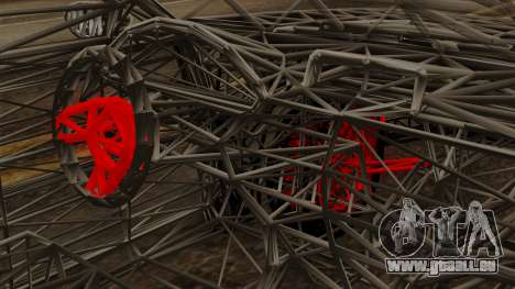 Kerdi Design Washington Roll Cage pour GTA San Andreas vue de droite