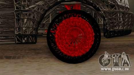 Kerdi Design Washington Roll Cage pour GTA San Andreas sur la vue arrière gauche