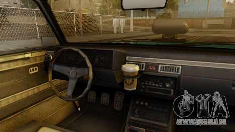 GTA 5 Albany Manana IVF pour GTA San Andreas vue de droite