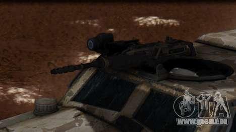 BAE Systems JLTV Extra Skin pour GTA San Andreas vue de droite