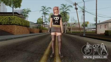 RE Dead Or Alive 5LR - Honoka C5 pour GTA San Andreas deuxième écran