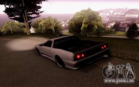 Elegy Pickup By Next für GTA San Andreas linke Ansicht