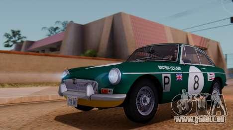 MGB GT (ADO23) 1965 HQLM für GTA San Andreas Seitenansicht