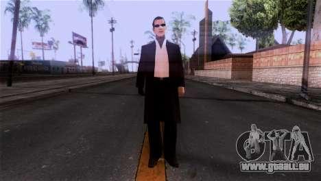 La peau de la mafia pour GTA San Andreas deuxième écran
