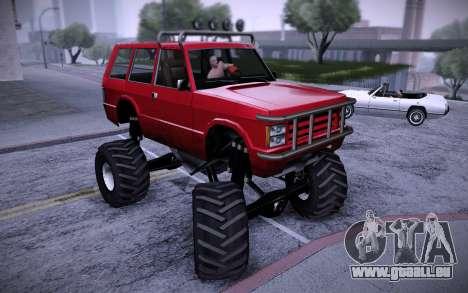Huntley Monster v3.0 für GTA San Andreas